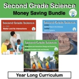 Second Grade NGSS:  Bundle of Science Units for the Whole Year!