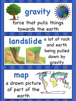 It's Second Grade Science!   NGSS Vocabulary for Your Word Wall
