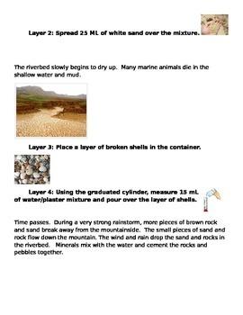 """6th Grade Science Rock Cycle Activity """"It's Sedimentay Dear Watson"""" (ELL/SPED)"""