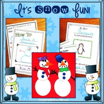 Snowman Craft and Winter Center Activities  It's Snow Fun!