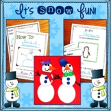 It's Snow Fun!  ELA Activities and Snowman Craft