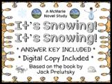 It's Snowing! It's Snowing! (Jack Prelutsky) Book Study / Reading Comprehension