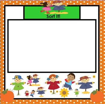 It's Sort of Looking Like Fall!:  SMARTBOARD Sorting Activities