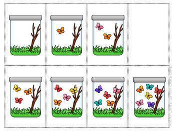 It's Spring! Let's Catch Butterflies Bee Bot Mat and Game Board