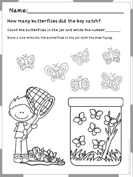 It's Spring! Let's Play with butterflies and caterpillars (Preschool)