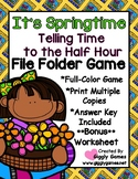 It's Springtime Time to the Half Hour File Folder Game *Bo