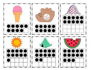 It's Summertime!  Summer School Math Unit