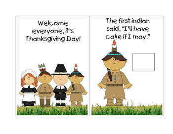 It's Thanksgiving Day Mini Book