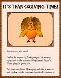 It's Thanksgiving Time! A Reader's Theater Play for Grades 3 - 4