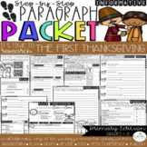 It's The First Thanksgiving! Guided Research/Informative Paragraph Packet