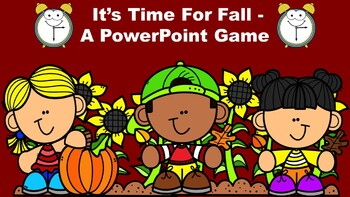 It's Time For Fall - A PowerPoint Game