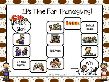 It's Time For Thanksgiving Emergent Reader Book AND Interactive Activities