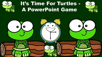 It's Time For Turtles - A PowerPoint Game