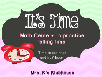 It's Time! Telling Time Activities