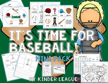 It's Time for Baseball! Mini- Pack by KL