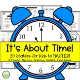 It's About Time!  Telling Time Stations