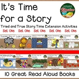 It's Time for a Story 10 Book Bundle SET ONE 137 Activities for 10 Titles