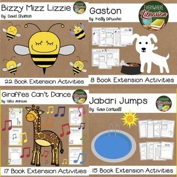 It's Time for a Story 10 Book Bundle SET THREE 149  Activities for 10 Titles