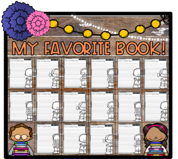 It's My Favorite Book! Opinion Step-Up Paragraph Packet