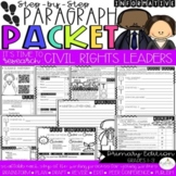 It's Time to Research: Civil Rights Leaders! Paragraph Packet (CKLA)