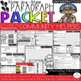 It's Time to Research: Community Helpers! Research/Inform.Step-UpParagraphPacket