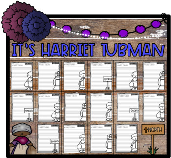 It's Time to Research: Harriet Tubman! Paragraph Packet