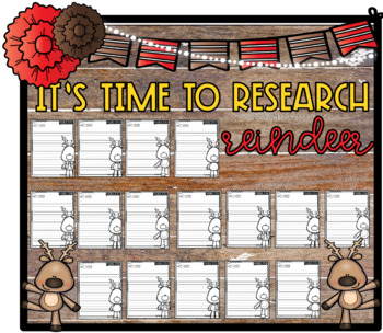 It's Time to Research, Reindeer!_Inform. Step-Up Paragraph Packet