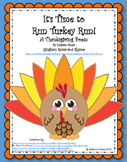 It's Time to Run Turkey Run (A Thanksgiving Poem)