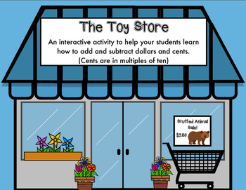 At the Toy Store (Adding and Subtracting Money) Part 3