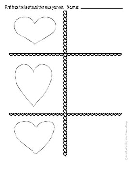 It's Valentine's Day! Let's Trace Hearts
