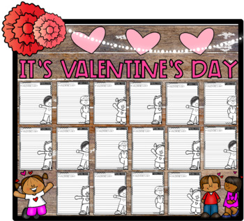 It's Valentine's Day! Opinion Step-Up Paragraph Packet