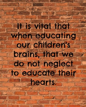 It's Vital When Educating Our Children...2