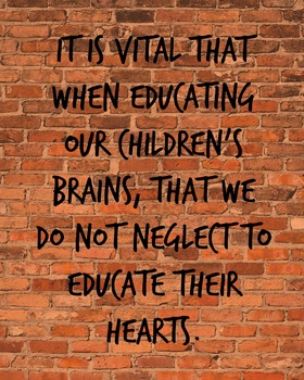 It's Vital When Educating Our Children...3