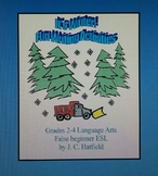 It's Winter !  Fun Writing Activities