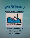 It's Winter !         Writing Winter Vocabulary