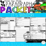 It's Winter! Opinion Paragraph Packet