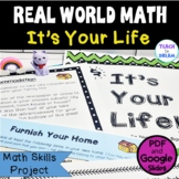 Middle School Real World Math Project, Distance Learning
