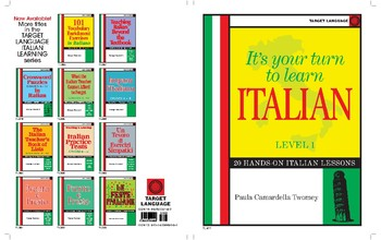 It's Your Turn to Learn Italian-20 Hands-on Italian Lessons, Level 1
