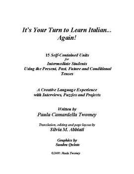 It's Your Turn to Learn Italian...again! Level 2