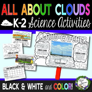 All About Clouds Craft and Lesson Ideas