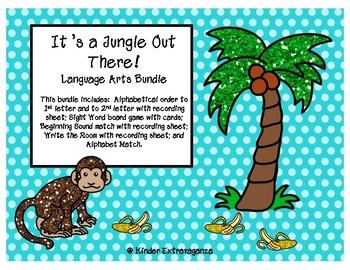 It's a Jungle Out There!  Language Arts Bundle