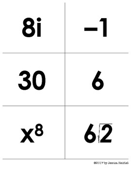 Imaginary Numbers Game Activity: It's a Race!