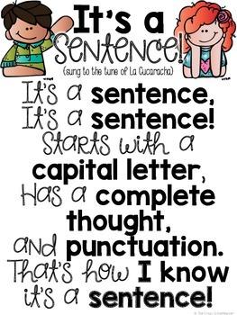 It's a Sentence!