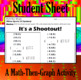 It's a Shootout - 15 Systems & Coordinate Graphing Activity