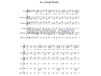 It's a Small World Orffestration