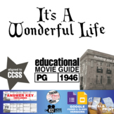 It's a Wonderful Life Movie Guide |Questions |Worksheet |Google Form (PG - 1946)