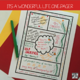 It's a Wonderful Life One-Pager Activity