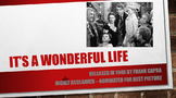 It's a Wonderful Life Winter Holiday Activity with Letter Writing