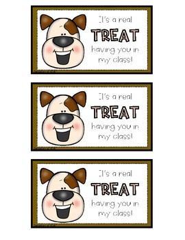 """It's a real """"TREAT"""" Gift Tag FREEBIE"""