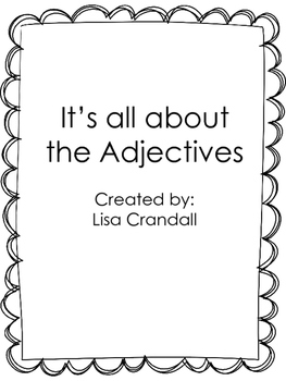 It's all about the adjectives!